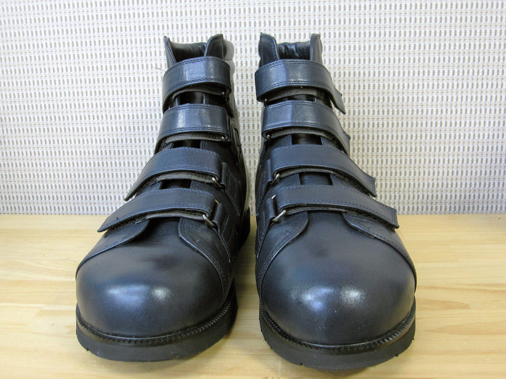 脳血管障害・脳梗塞の方用靴、足にやさしい靴・オーダーメイドシューズ